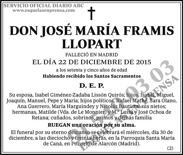 José María Frami Llopart